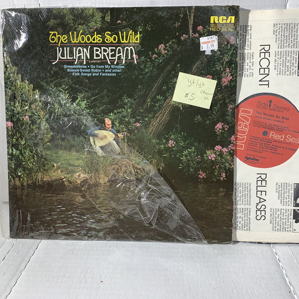 Julian Bream Woods So Wild- RCA LSC 3331 VG+/VG+ Classical Record LP