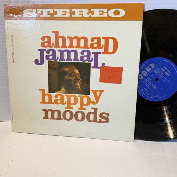 Ahmad Jamal Happy Moods- Argo LPS 662 VG+/VG+ Jazz Vinyl Record LP early