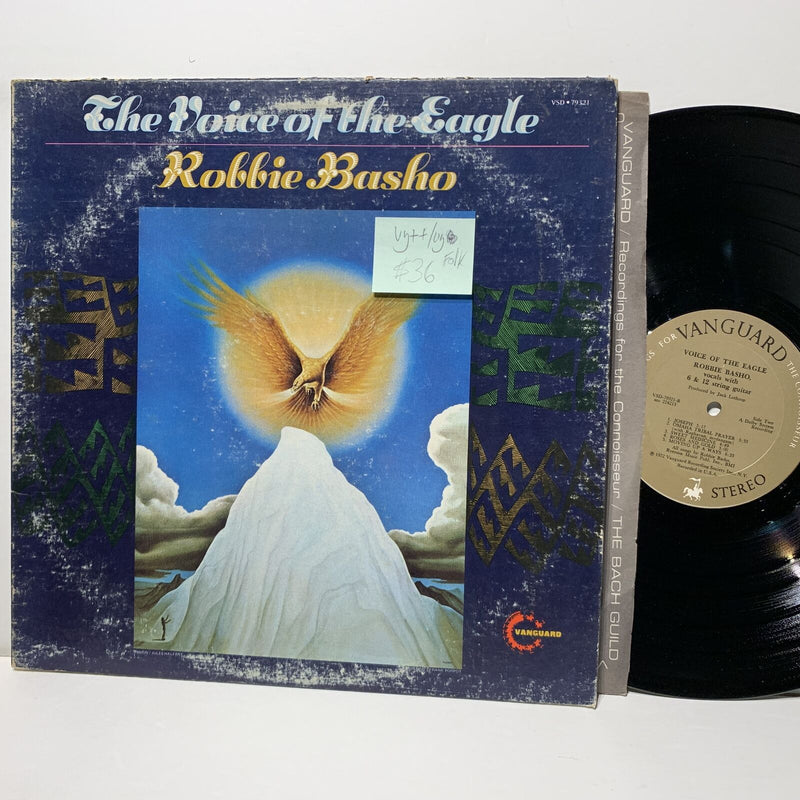 Robbie Basho The Voice Of The Eagle- Vanguard 79321 VG++/VG Folk LP