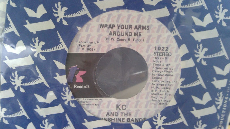 KC & The Sunshine Band- Im your Boogie Man- TK 1022 SEALED Disco