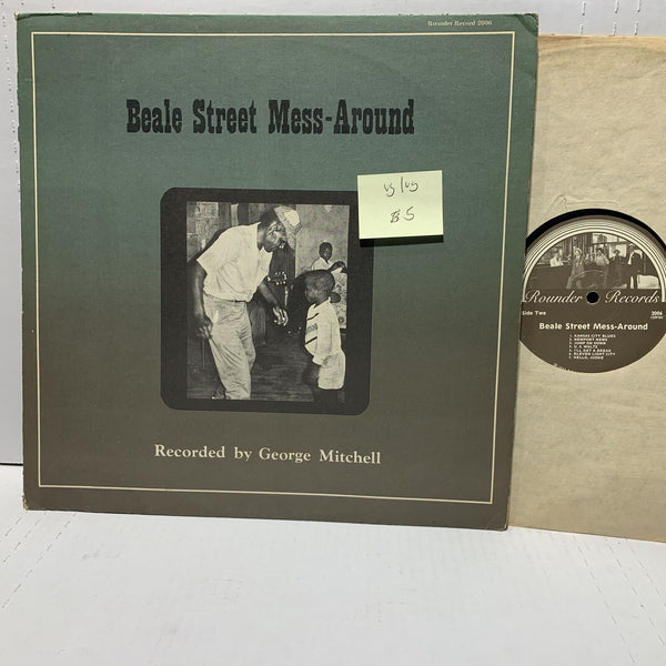 George Mitchell Beale Street Mess Around- Rounder 2006 VG/VG Blues