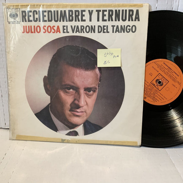 Julio Sosa El Varon Del Tango Reciedumbre Peru Press G+/G+ Latin Record LP