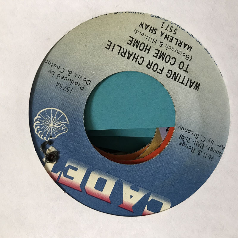 Marlena Shaw- Brother Where Are You- Cadet 5571- VG/VG+ Soul 45
