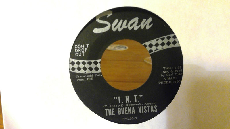 Buena Vistas- Hot Shot/ TNT- Swan 4255- EX Funk 45