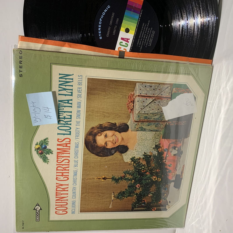 Loretta Lynn- Country Christmas- Decca Country LP- VG+-/VG++