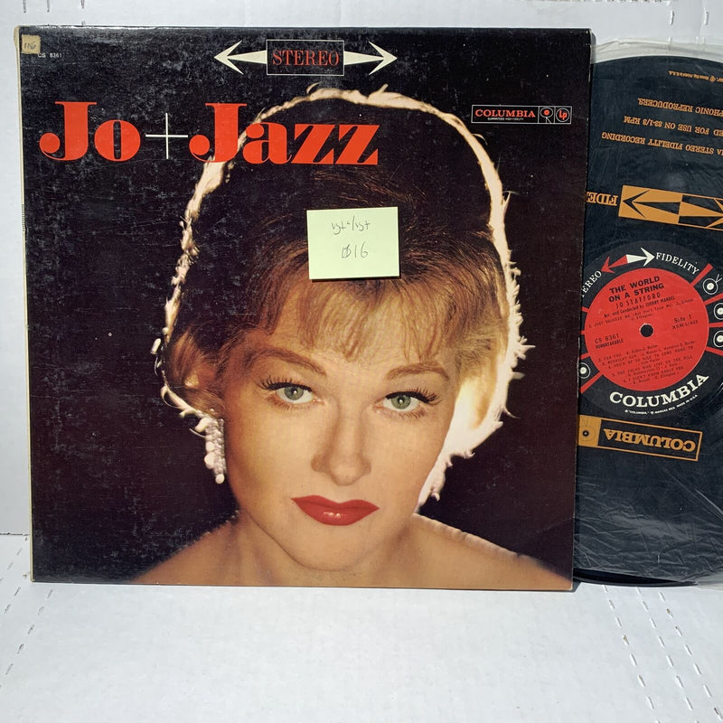 Jo Stafford The World On A String- Columbia CS 8361 VG+-/VG+ Pop Vocal