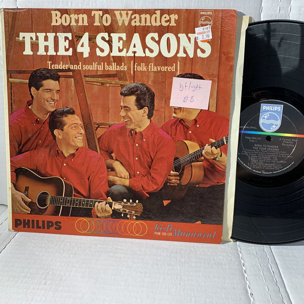 The 4 Seasons Born To Wander- Philips PHM 200 129 VG+/VG++ Rock Record LP