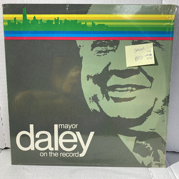 Major Daley On The Records- WMAQ 670 1978 Novelty SEALED Record LP
