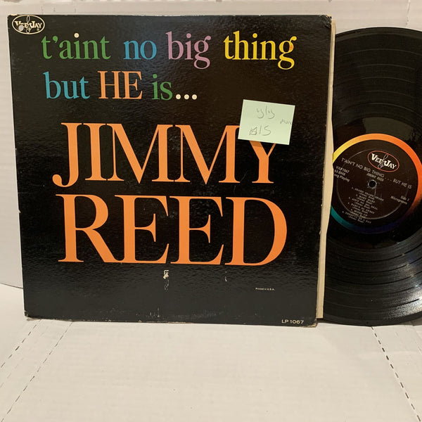 Jimmy Reed Taint No Big Thing He Is- Vee Jay 1067 VG/VG Blues Record LP