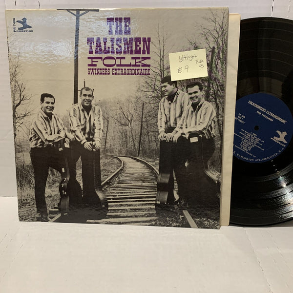 The Talisman Folk Swingers Extraordinaire- Prestige PR 7406 VG++ Folk Record