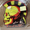 "Infa-Riot Kids Of The 80's Pirate Press 045 2011 7"" 45 Punk Shaped Vinyl Record"