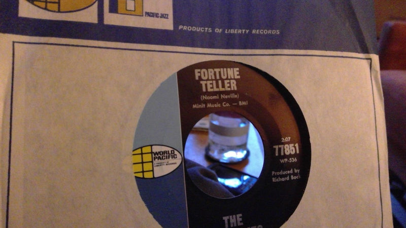 Hardtimes- Fortune Teller/Goodbye- World Pacific 77851 Rare Garage 45- NM-
