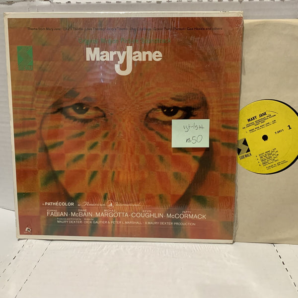 Maryjane Original Soundtrack Record LP Dick Gautier- Sidewalk 5911 VG+-/VG++