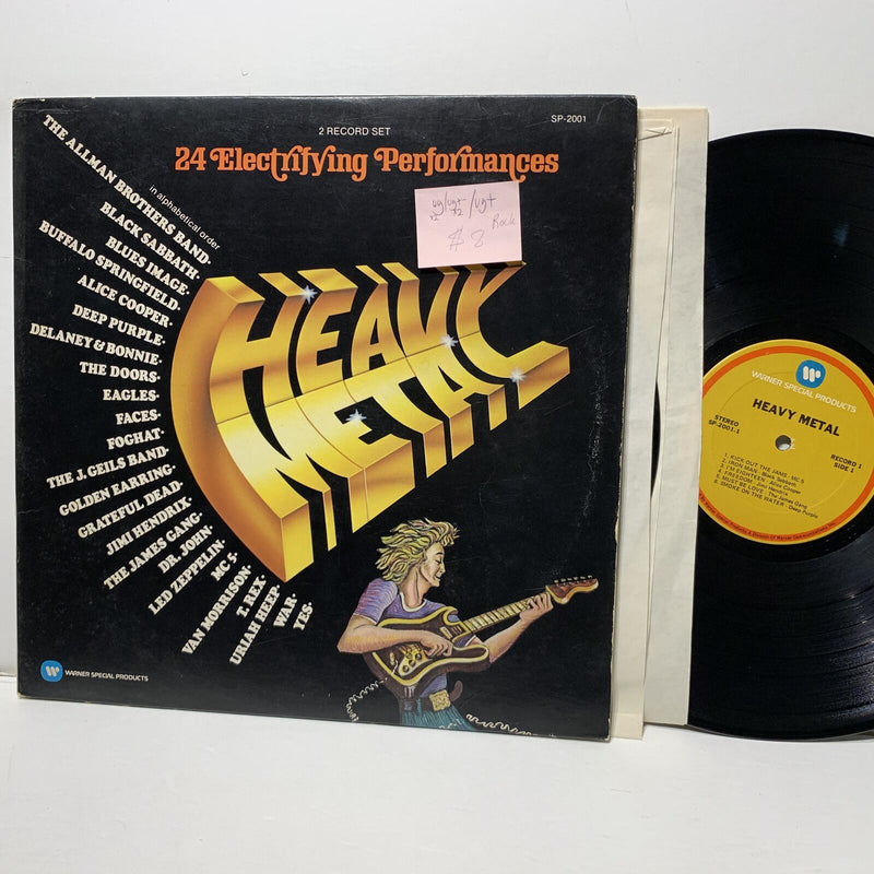 Heavy Metal Warner Special Products 2001 2LP Rock Comp VG/VG+- /VG+