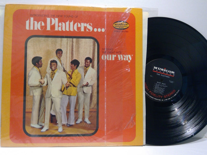 The Platters- Greatest Hits Our Way- Musicor 3185- EX/VG++ Soul