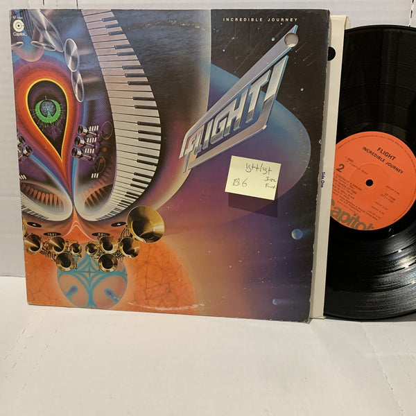 Flight Incredible Journey- Captiol ST 11536 VG++/VG+ Jazz Funk Vinyl record LP