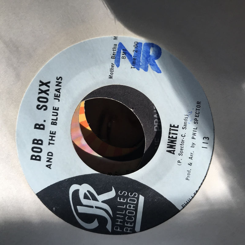 Bob B. Soxx Blue Jeans- Not Too Young To Get Married/Annette- Philles 113- EX