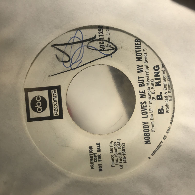 BB King- Ask Me No Questions- ABC 11290 PROMO- VG+ WOL