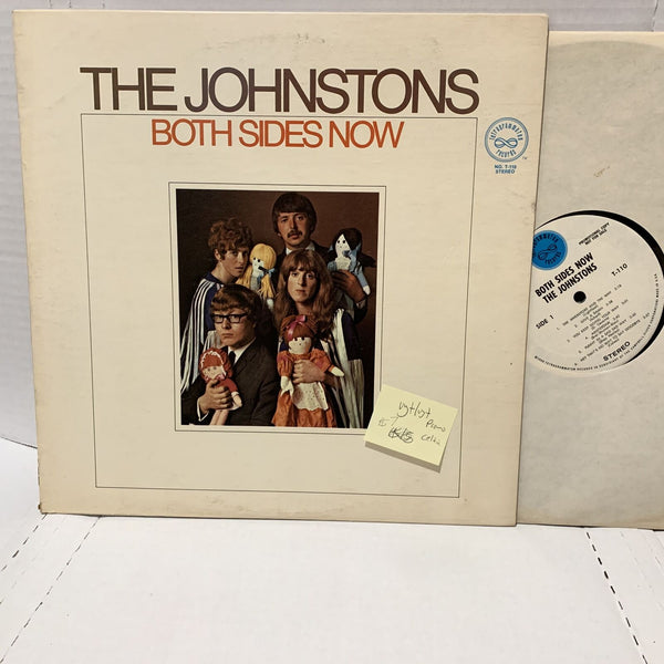 The Johnstons Both Sides Now- T 110 Promo VG+/VG+ Celtic Record LP World