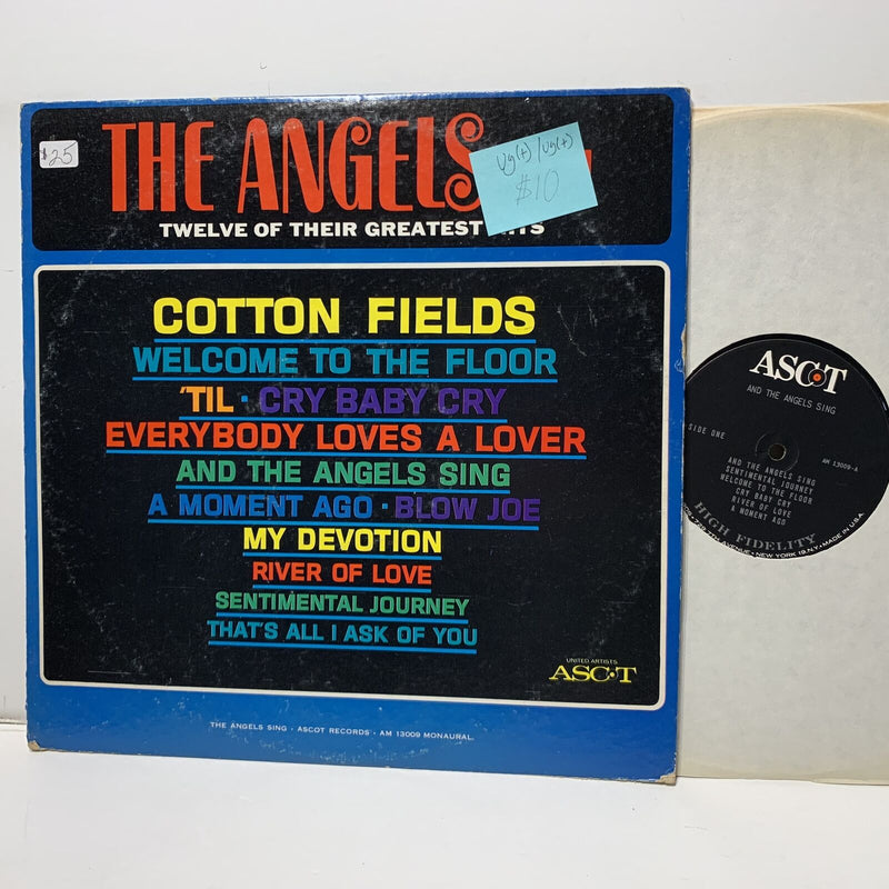 The Angels Sing 12 Greatest Hits- Ascot 13009 Rock Pop VG(+)/VG(+)