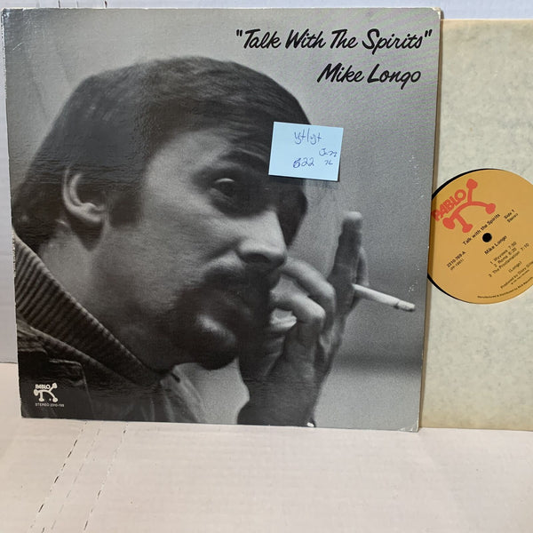 Mike Longo Talk With The Spirits- Pablo 2310 769 VG+/VG+- Jazz Record LP '76