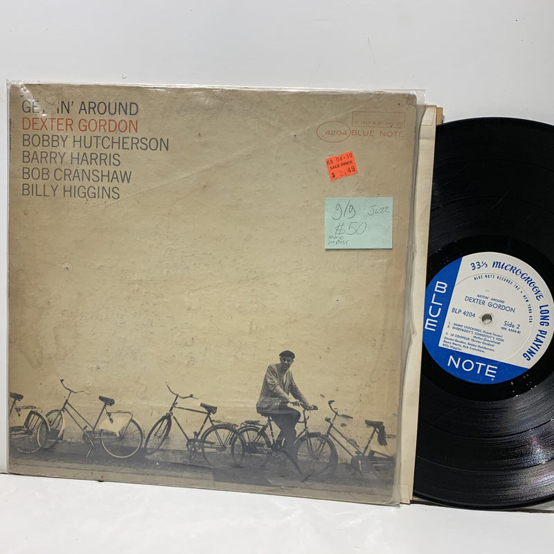 Dexter Gordon Getting Around Blue Note BLP 4204 Mono 1st NY G/G Jazz