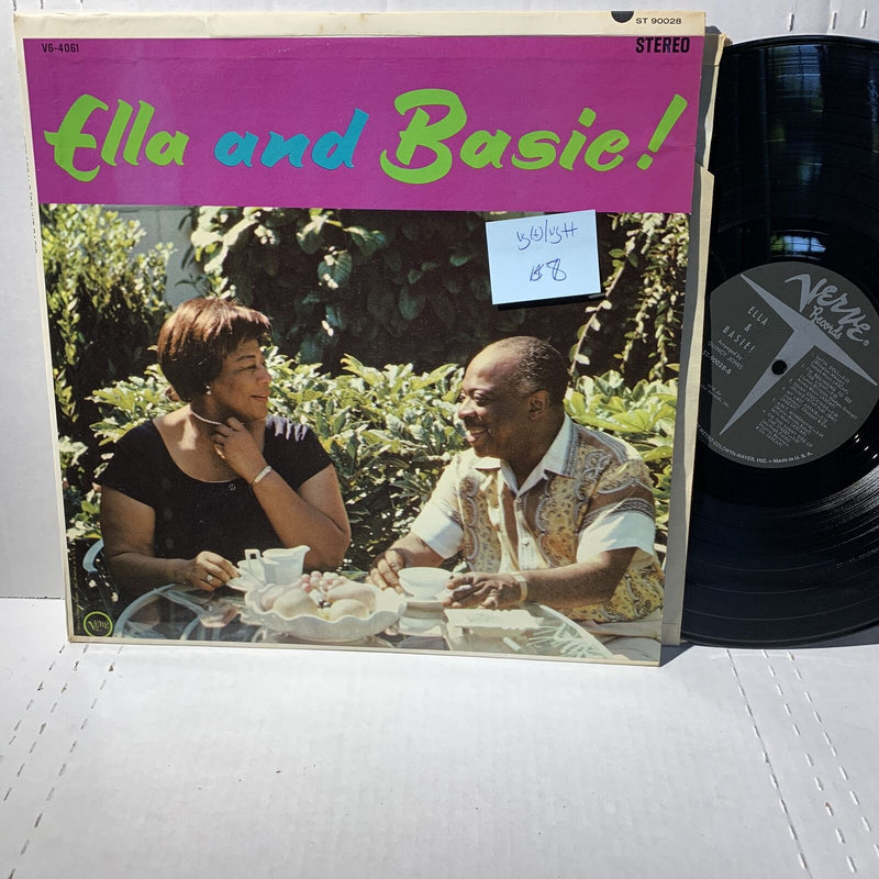 Ella Fitzgerald and Count Basie- Verve ST 90028 VG(+)/VG++ Jazz Record LP