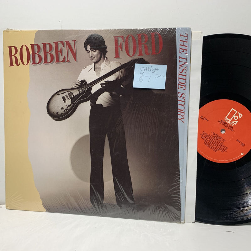 Robben Ford The Inside Story- Elektra 6E 169 VG++/VG++ Jazz LP