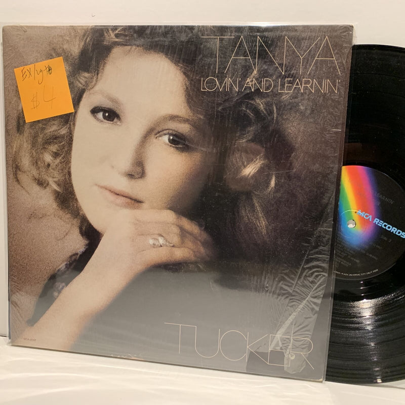 Tanya Tucker- Lovin And Learnin- MCA Country LP- EX/VG+