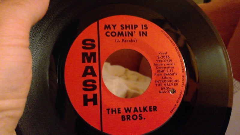 Walker Brothers- My Ship Is Comin In- Smash 2016 NM- Rare pic sleeve variant