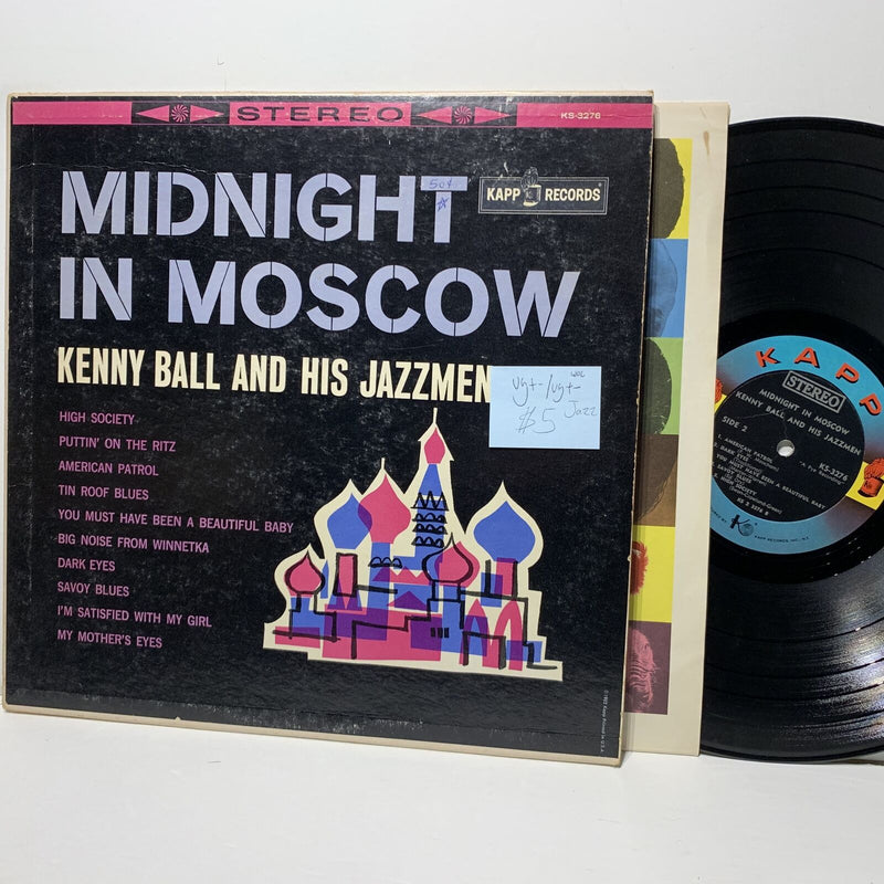 Kenny Ball Midnight In Moscow Kapp 3276 Jazz VG+-/VG+- WOC