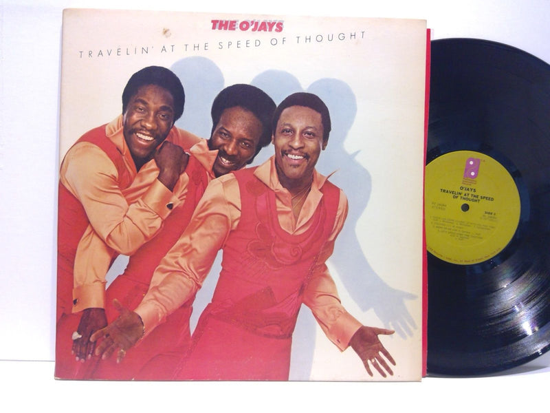 The O'Jays- Travelin At The Speed Of Thought- Philadelphia Intl 34684- VG+/VG+
