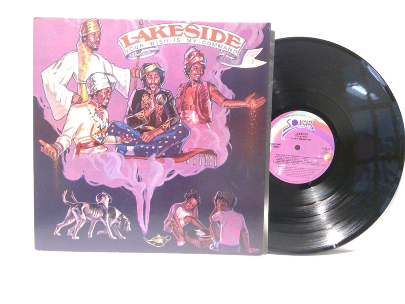 Lakeside- Your Wish Is My Command- Solar 26 AR- VG++/VG++ Disco Funk rare varian