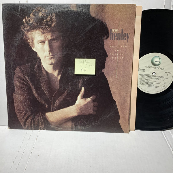 Don Henley Building The Perfect Beast- Geffen GHS 24026 VG+ Club Edition LP