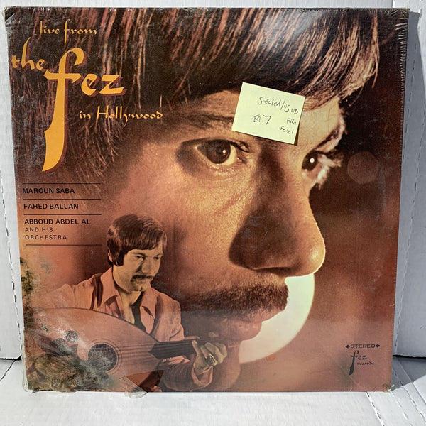 Live From The Fez In Hollywood SEALED VG sleeve w/ water damage corner LP