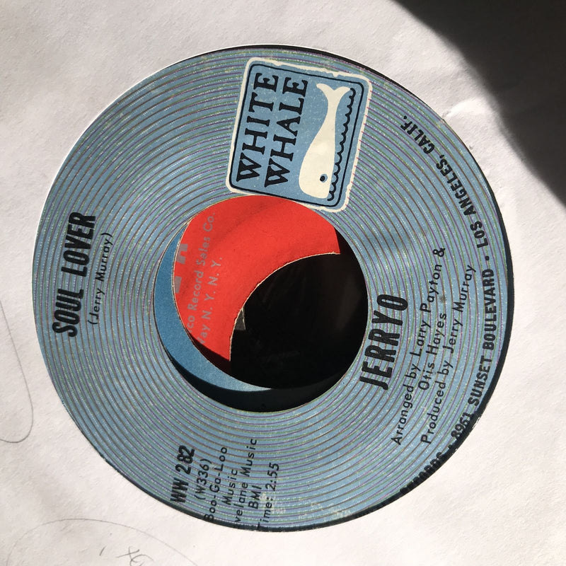 Jerry O - (Funky) Four Corners/Soul Lover- White Whale WW 282- VG++