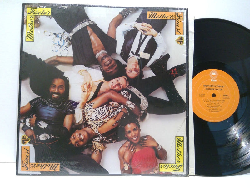 Mother Factor- Mother's Finest- Epic JE 35546- VG+/EX Soul Funk