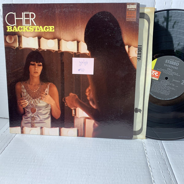 Cher Backstage- Imperial LP 12373 VG+/VG+ Pop Rock Vinyl Record LP Stereo