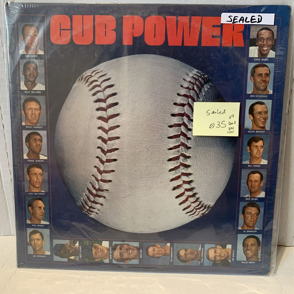 Chicago Cub Power- Quill 800 1001 SEALED Sports Promotional Record 1969