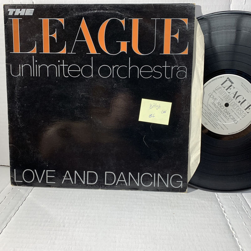 The League Unlimited Orchestra Love And Dancing Uk Press VG+/VG+- Record LP