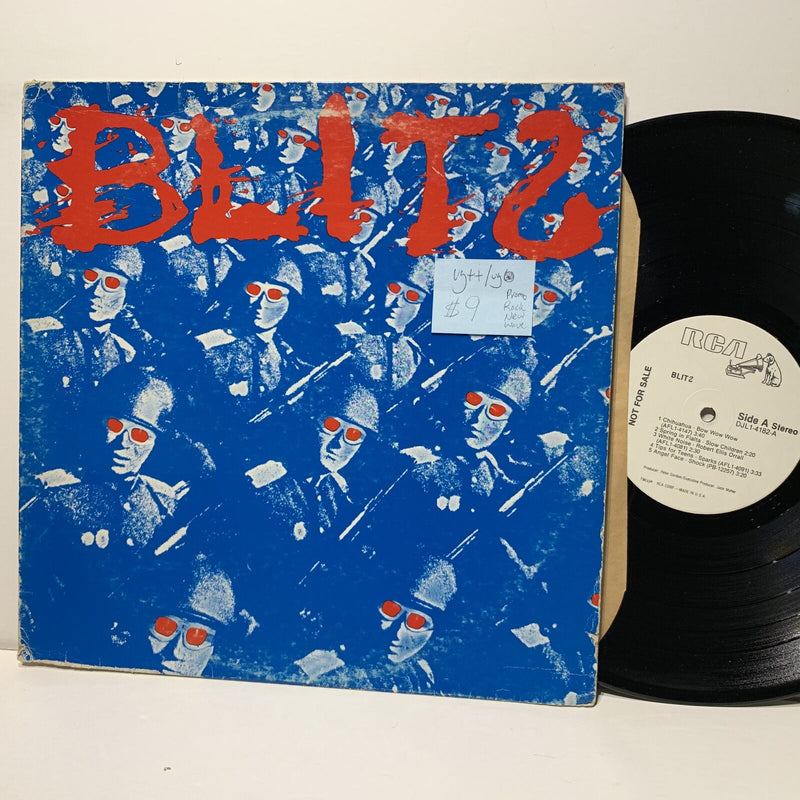 Blits S/T- RCA 4182 Rock New Wave LP VG++/VG