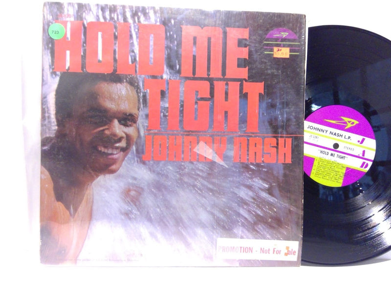 Johnny Nash- Hold Me Tight- JAD 1207- VG++/VG+ Soul