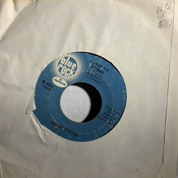 Junior Parker Lover To Friend- Blue Rock 4064 VG(+) Blues 45rpm single