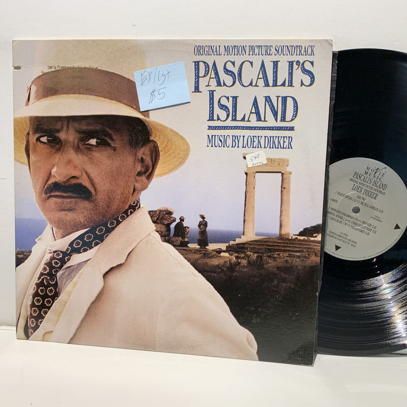 Loek Dikker- Pascali's Island Soundtrack LP- Movie Music- EX/VG+
