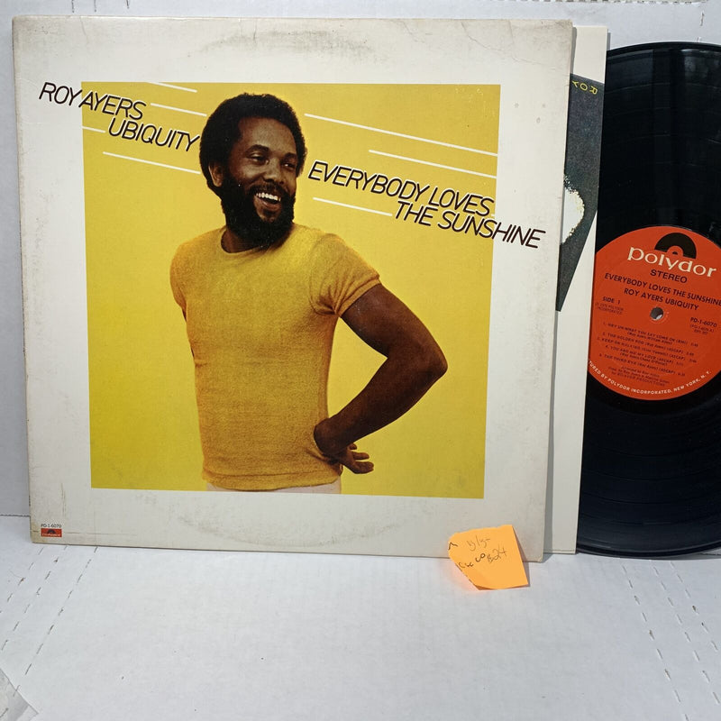 Roy Ayers Ubiquity- Everybody Loves The Sunshine- Polydor 6070 VG/VG+