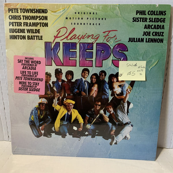 Playing For Keeps Original Motion Picture Soundtrack Atlantic 81678 SEALED