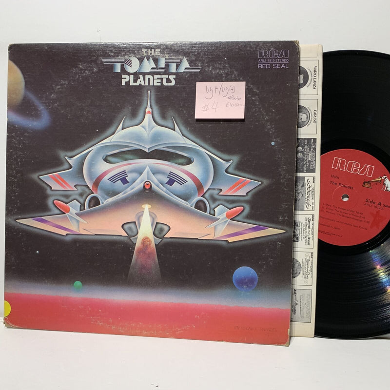 Tomita Planets- RCA 1919 Classical Electronic VG+/VG(+) w/insert