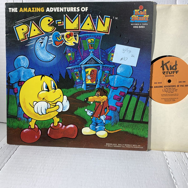The Amazing Adventures Of Pac Man Kid Stuff KSS 5023 VG+ Novelty Record LP