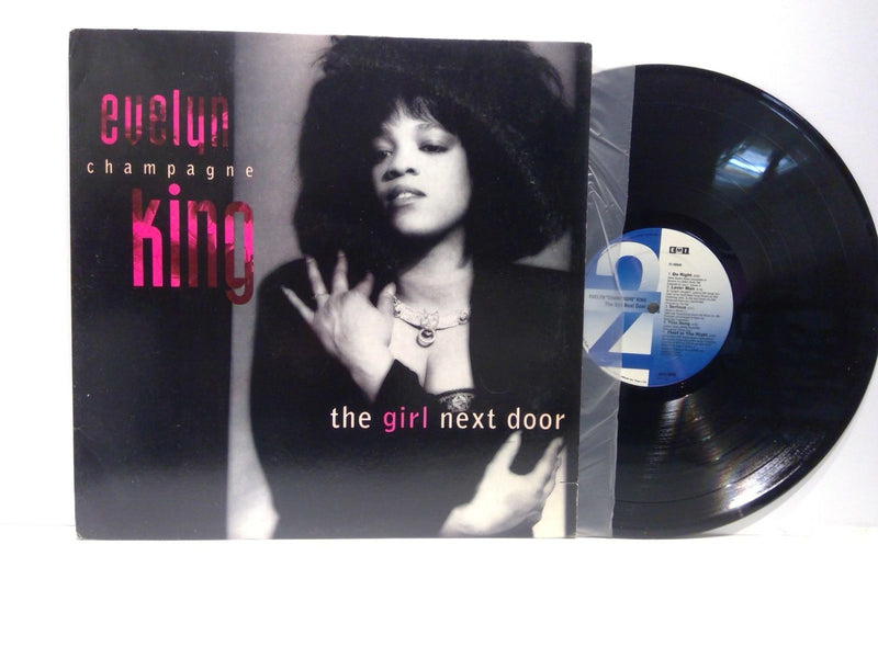 Evelyn CHampagne King- The Girl Next Door- EMI E1-92049- VG+/VG+ SOul
