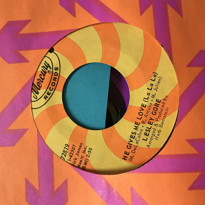 Lesley Gore- He Gives Me Love/Brand New Me- Mercury 72819- VG+ Pop 45